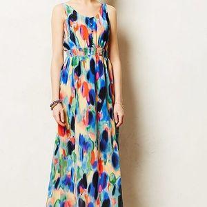 Maeve Anthropologie Aloisia Maxi Dress